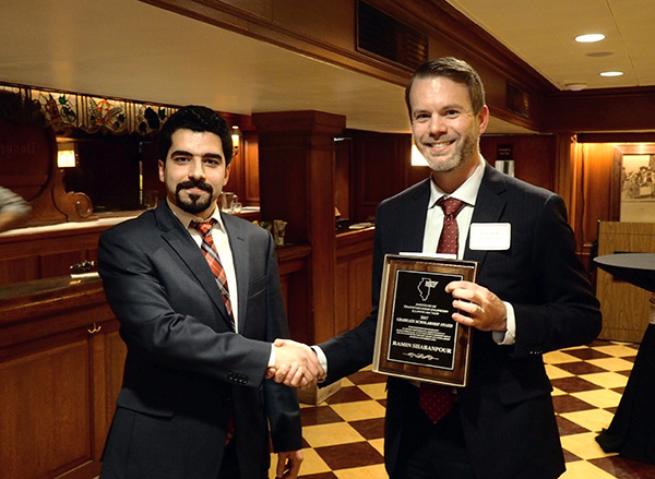 Ramin Shabanpour receives award