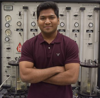PhD candidate Girish Kumar civil and materials engineering UIC