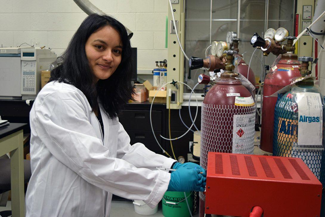 Jyoti Chetri, a CME graduate student at UIC.