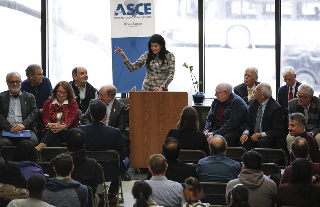 ASCE legends at UIC