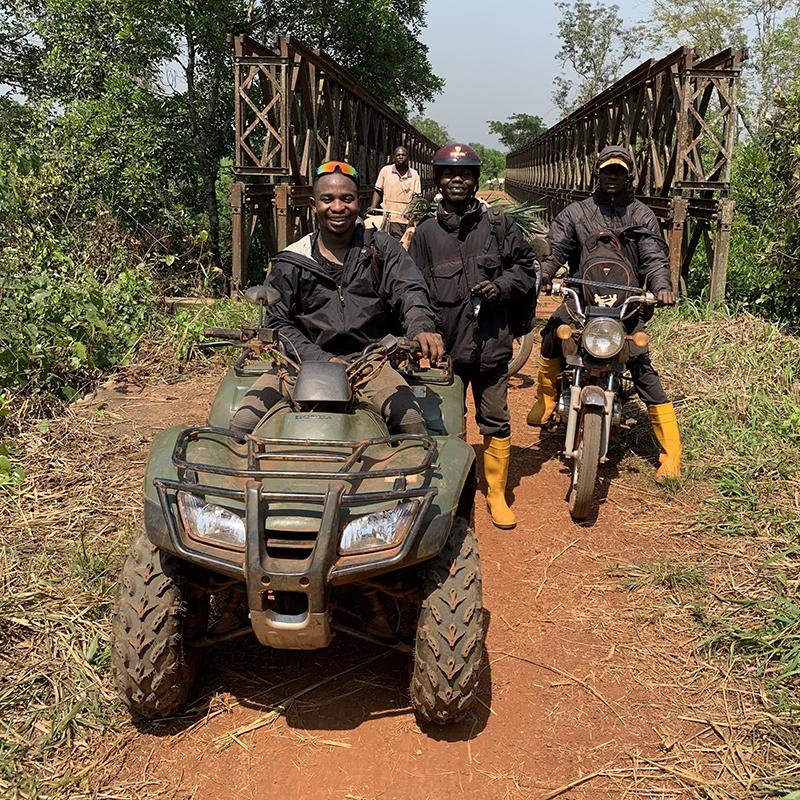 UIC Tresor Moolo civil engineering Congo