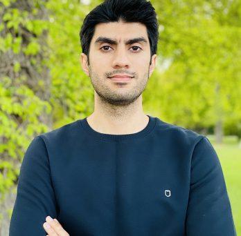 Abolfazl Seyrfar, an undergraduate civil engineering major at UIC