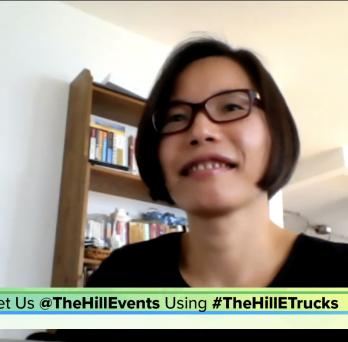 Jane Lin, UIC professor, on The Hill panel